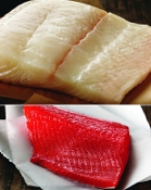 10 lbs. Halibut & Sockeye Salmon Sampler