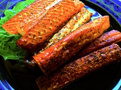Smoked Coho Salmon Strips